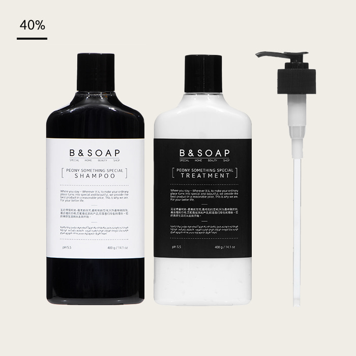 [비앤솝] PEONY HAIR CARE SET