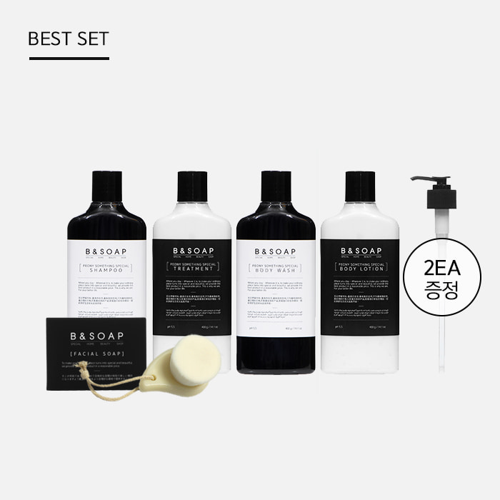 [비앤솝] PEONY HAIR&BODY FULL CARE SET