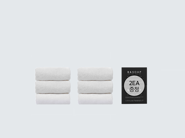 [비앤솝] HOTEL AMENITY SET - WHITE